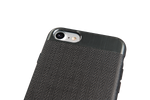 SPADA - Pure Cover - Apple iPhone 7, 8 - Schwarz / Silber 002
