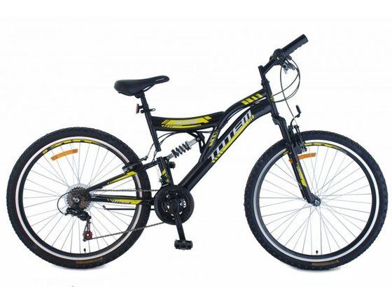 "TOTEM Mountainbike Velo Air Force 26"" schwarz/gelb"