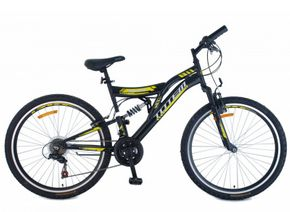 "TOTEM Mountainbike Velo Air Force 26"" schwarz/gelb"