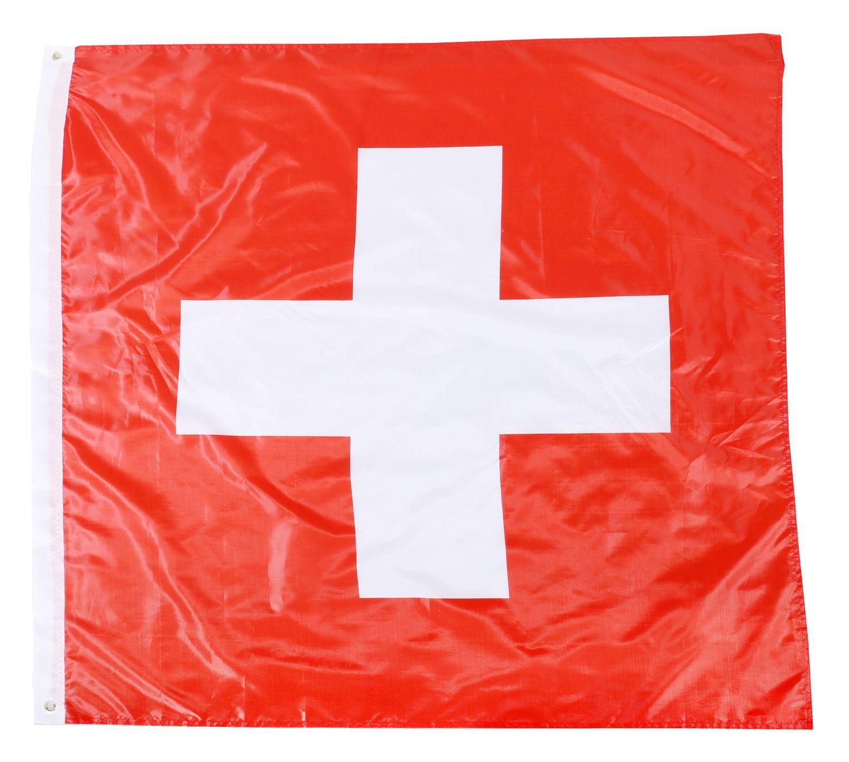 Nationalflagge Schweiz 120 cm x 120 cm