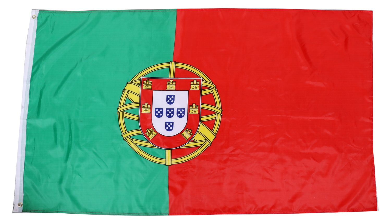 Nationalflagge Portugal 90 cm x 150 cm