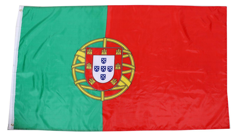 Nationalflagge Portugal 90 cm x 150 cm
