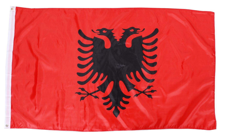 Nationalflagge Albanien 90 cm x 150 cm