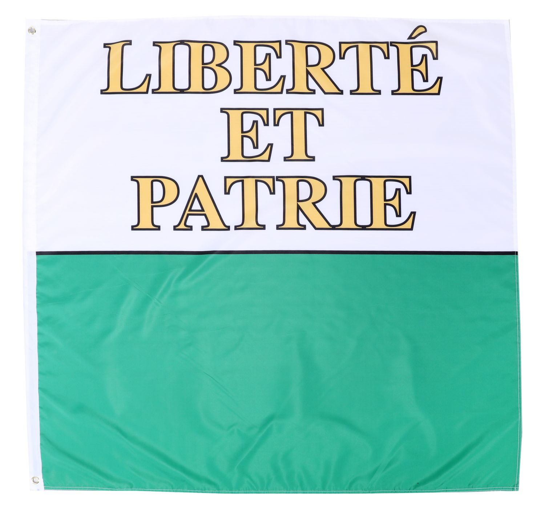 Kantonsflagge Waadt 120 cm x 120 cm