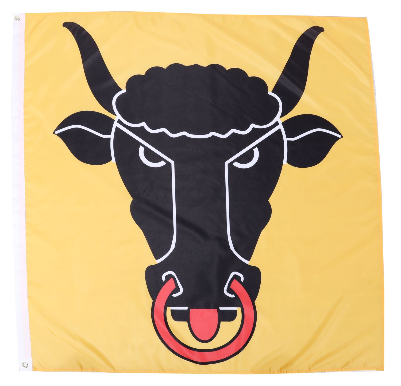 Kantonsflagge Uri 120 cm x 120 cm