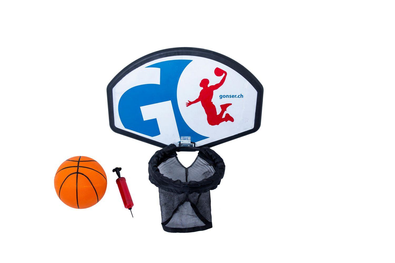 Basketballset für Trampolin