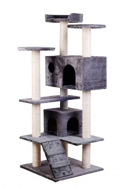 Arbre à chat NELLY gris