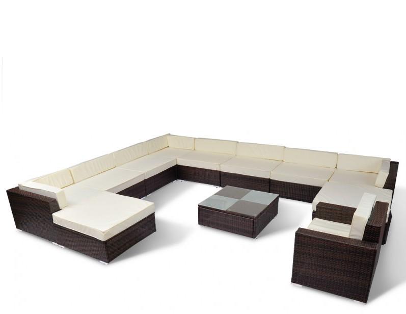 Gartenmöbel Rattan Lounge SIERRA   Online Shop Gonser