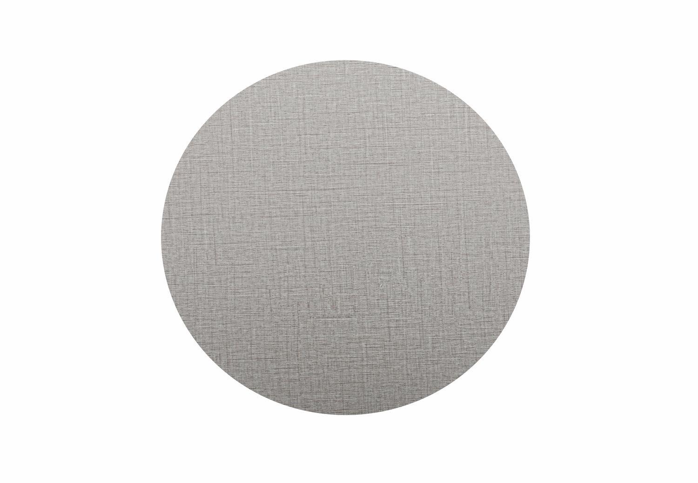 Tischplatte rund 50 cm grau
