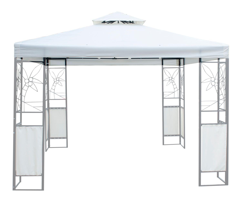 Dach für Gazebo 3 x 3 m weiss