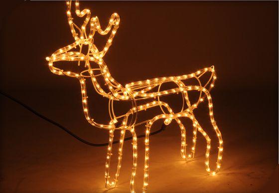 Weihnachtsbeleuchtung Rentier