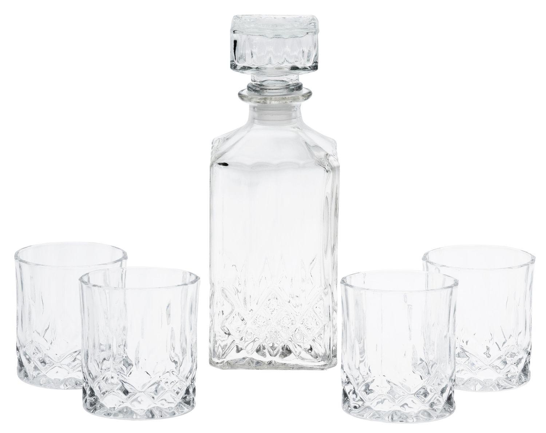 Karaffe mit 4 Gläser