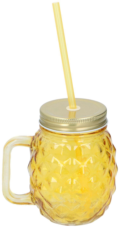 Trinkbecher Ananas