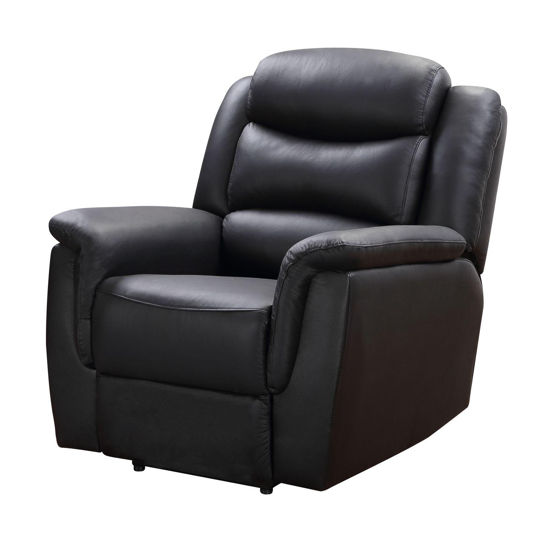 Sessel ADAM elektrisch schwarz