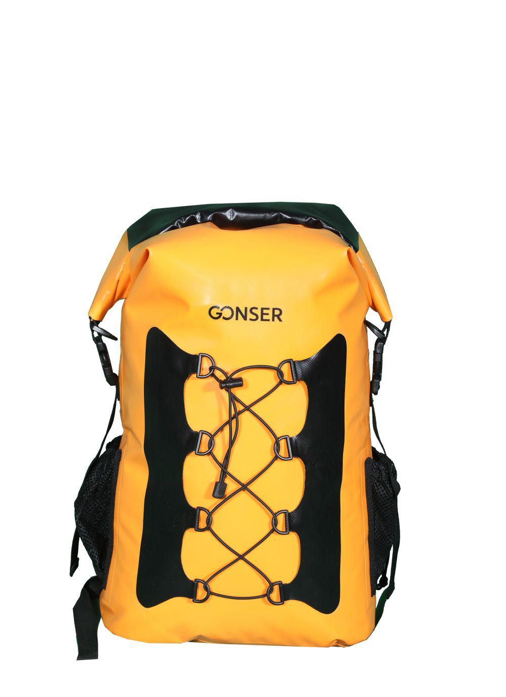 Dry Bag Rucksack wasserdicht orange 30L