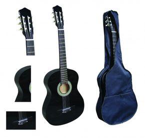 Klassische Gitarre 4/4 schwarz