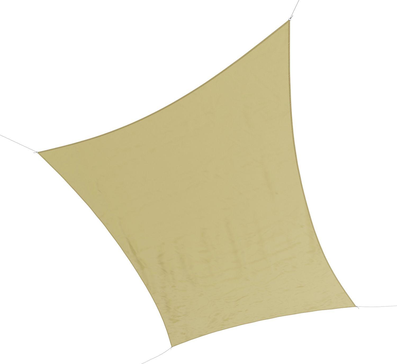 Sonnensegel Polyester 4 x 6 m beige