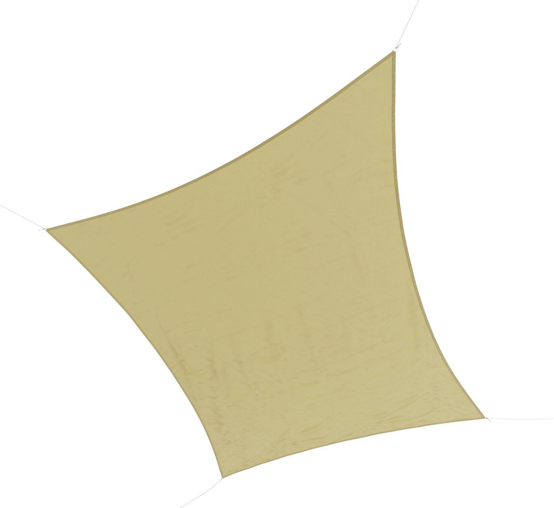 Sonnensegel Polyester 3 x 4 m beige