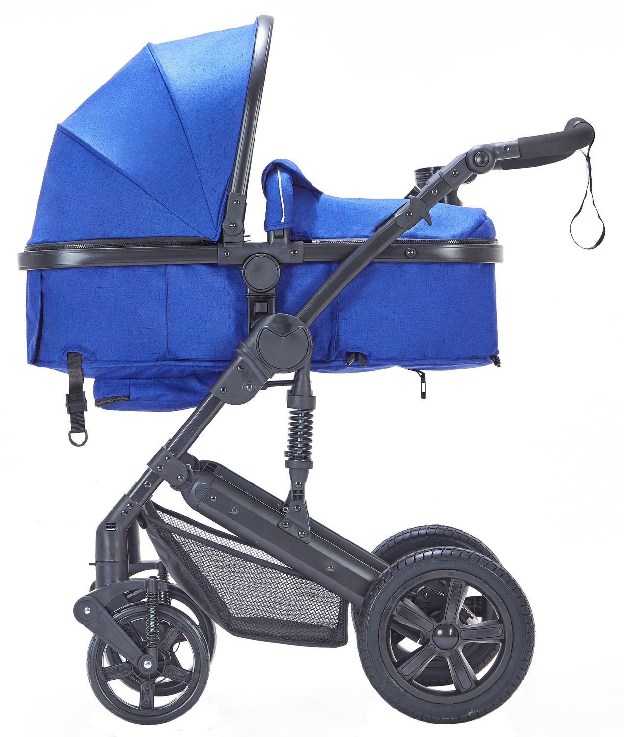 Kinderwagen MOTION 2 in 1 blau / schwarz