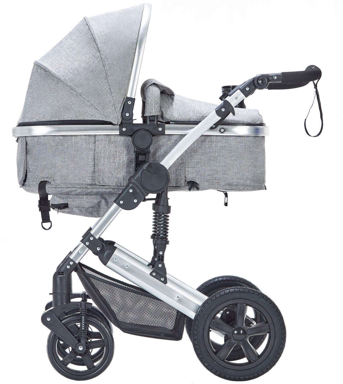 Kinderwagen MOTION 2 in 1 grau / silber