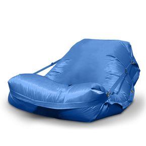 Sitzsack XXL blau inkl. Füllung