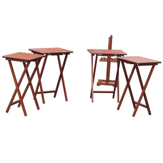 Set de 4 table de pique-nique