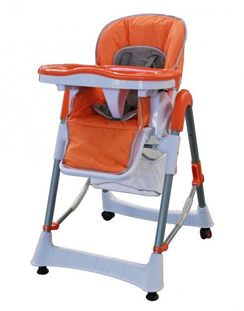 Kinderhochstuhl orange