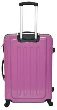Reisekoffer Hartschalenkoffer 72 x 48 x 31 cm pink