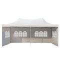 Pavillon pliant blanc 6 x 3 m