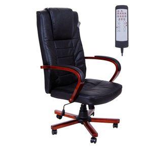 Bürostuhl Lederstuhl mit Massagefunktion