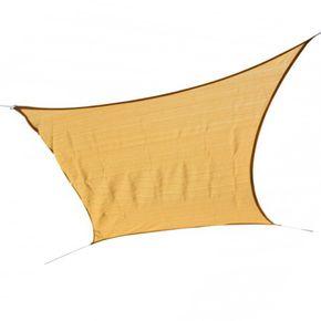 Voile d'ombrage carré 3 x 3 m