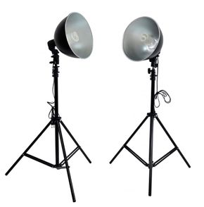Lampe studio alu pack double