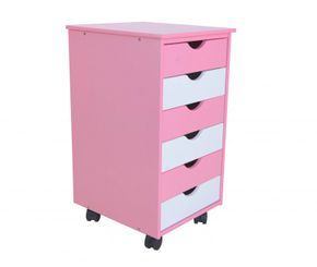 Rollcontainer pink