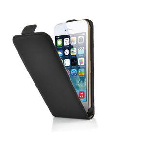 Étui en cuir pour noir pour iPhone 5 / 5S
