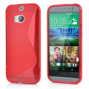 Case rouge pour HTC One M8