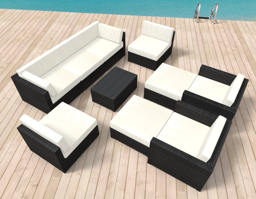 Gartenmöbel Rattan Lounge VALENCIA | Online Shop Gonser