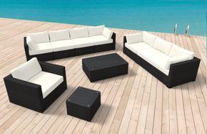 Gartenmöbel Rattan Lounge HAWAII