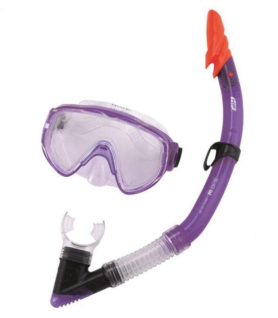 Set de plongée Hydro-Pro lilas 14+ ans