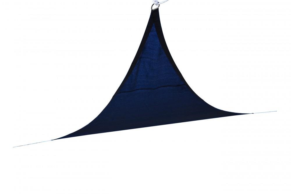 voile d 39 ombrage triangle bleu magasin en ligne gonser. Black Bedroom Furniture Sets. Home Design Ideas