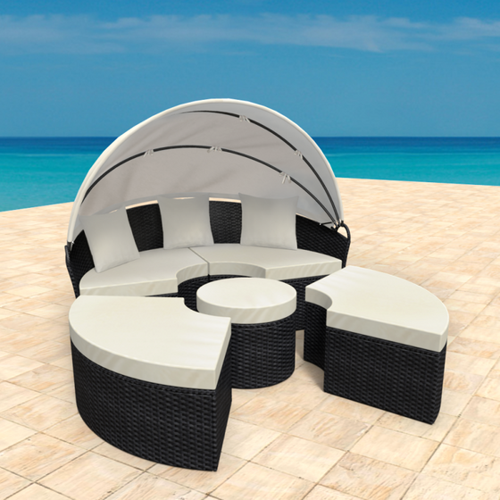 Gartenmöbel Rattan Lounge Sonneninsel HAVANNA
