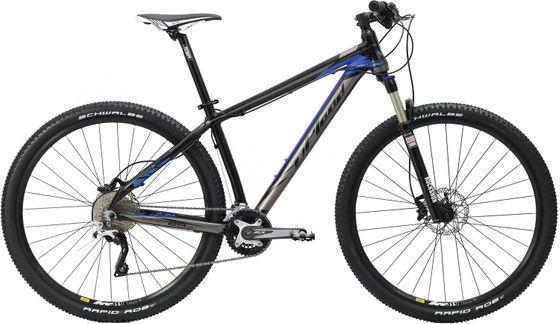 """Mountainbike Velo UPLAND Wildfire 29"""" schwarz/blau"""