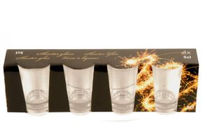 Set de 4 shooters de 5 cl