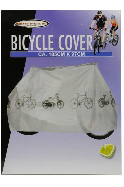 Schutzplane für Fahrrad und Mofa