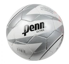 Ballon de football Penn Ultra blanc/gris