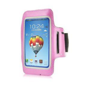 Bracelet de sport pour smartphones 5 pouces rose
