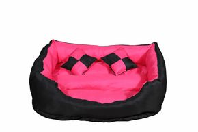 Hundebett ROCKY pink M
