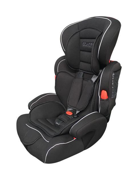 Siège auto pour enfant noire