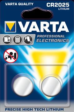 VARTA Lithium Batterien 6025 CR2025 2 Stk.