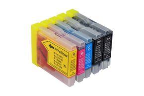 Tintenpatronen Set kompatibel mit Brother LC-970 / LC-1000