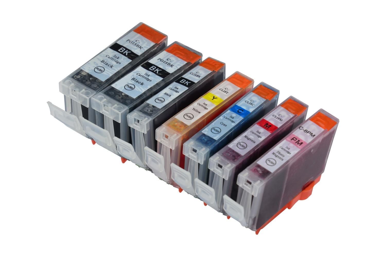 Tintenpatronen Set kompatibel mit Canon PGI-5